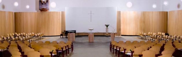 Kerkzaal inrichting